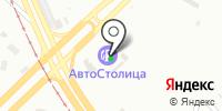 Автостолица на карте
