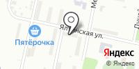 На Ялтинской на карте