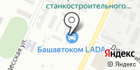 Веха на карте