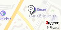 Киоск по продаже автотранспортных карт на карте