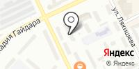 Анж на карте