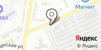 Автостоянка на Чернореченской на карте