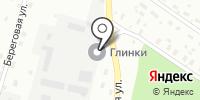 Глинки на карте