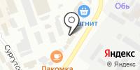 Элитная на карте