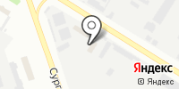 Автомойка на Сургутской на карте