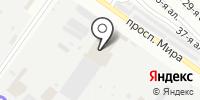 Северок на карте