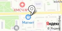 Эланэ на карте