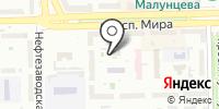 Городской центр временной занятости г. Омска на карте