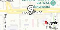 Топ на карте