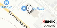 Омск-Лада на карте