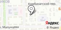Церковь Христиан Веры Евангельской Омской области на карте