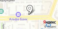 Бирюсинка на карте