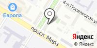 Синар на карте