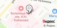 Омский похоронный комплекс на карте