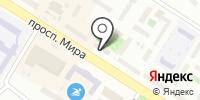 Аква беби на карте