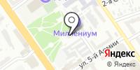 Файнекс на карте