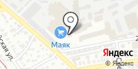 Стеклопромышленная компания на карте