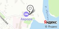 Аврора на карте