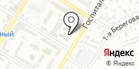 Союз строителей Омской области на карте