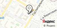 Toyota на Госпитальной на карте