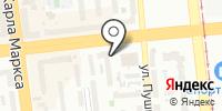 Анюта на карте