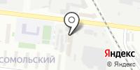 Сибрезинопласт на карте