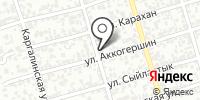 Продуктовый магазин на Алматинская (Достык) на карте
