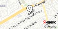 СТО на Кыстауова на карте