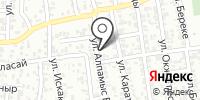 АБЖКР на карте