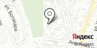 Д`Арлан на карте
