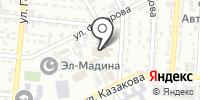 Бутончик на карте
