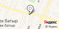 Толеубек на карте