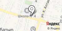 Ажархан на карте