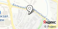 КУР-ЗАТ на карте