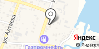 Азиза на карте