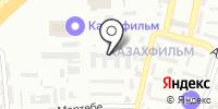 Казахфильм на карте