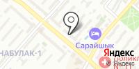 Канаш на карте