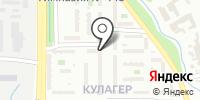 Кулагер на карте