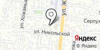 Ширин на карте