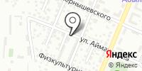 Автостоянка №017 на карте