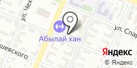 Прокуратура Турксибского района г. Алматы на карте