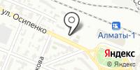 Мейрам на карте
