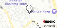 Часик на карте