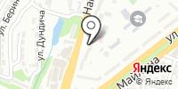 Грация на карте