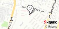 Городской противотуберкулезный диспансер Турксибского района на карте