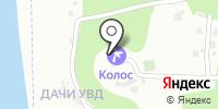 Колос на карте