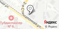 Автометиз на карте