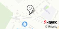 Аган на карте