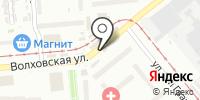 Мясной городок на карте