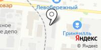 НЭТК на карте